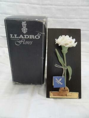 LLADRO Flores 5184 White Carnation (Boxed) • 95£