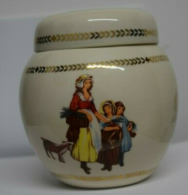 Yardley Ceramic Pottery Container Pot With Lid • 4.99£