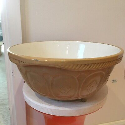 Vintage Large Easimix Mixing Bowl T.G.Green & Co. Gripstand Church Gresley • 22£