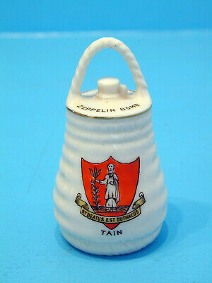 Shelley WWI Crested China German Zeppelin Bomb - TAIN • 17.99£
