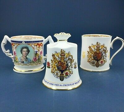 Collection Of Aynsley Commemorative Ware • 10.50£