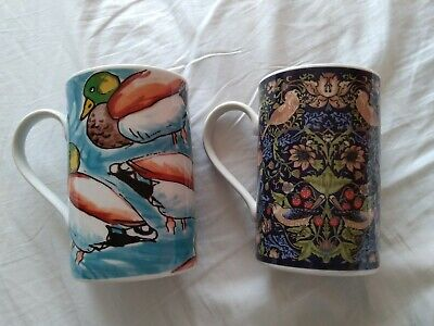 DUNOON Two Collectable Mugs. • 10£