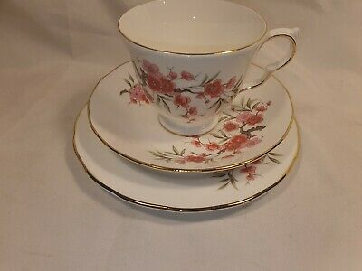 Vintage Queen Anne Pattern #8685 Trio Cup Saucer Side Plate Excellent Condition • 7.99£