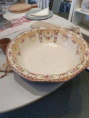Very Large Antique Victorian Washbowl  • 15£
