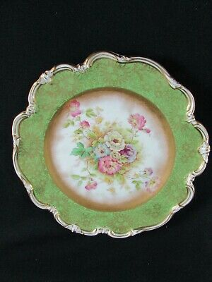 George Jones Crescent China Hand Painted Plate C.1920 • 45£