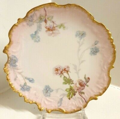Antique Limoges M Redon France Side Plate • 9.99£