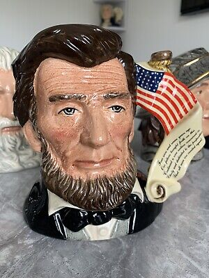 Large Size Abraham Lincoln Limited Edition Doulton Character Jug • 195£