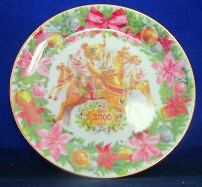 Royal Doulton China Plate Christmas Carousel PN262 *VERY RARE* • 10£