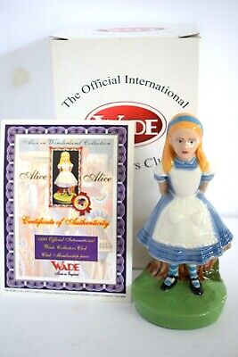 WADE Alice In Wonderland ALICE  Issued In 1999 Boxed Certificate • 7.99£