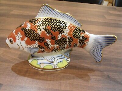 Royal Crown Derby Paperweight . Exclusive Edition . Koi Carp • 79.99£