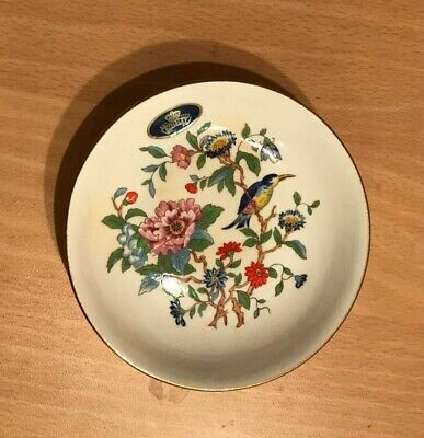 AYNSLEY BONE CHINA  Pembroke  SMALL TRINKET/PIN DISH. Used, Well Looked After • 1.10£