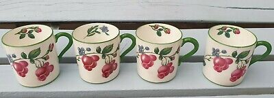 4 Vintage Paragon Fine Bone China, Made In England, Small Cups Floral • 15.50£
