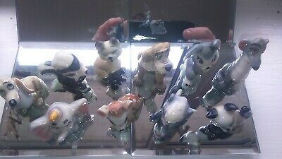 The Hat Box Series Wade Of England 10 Figures Cat Has Small Chip To Foot Area • 50£