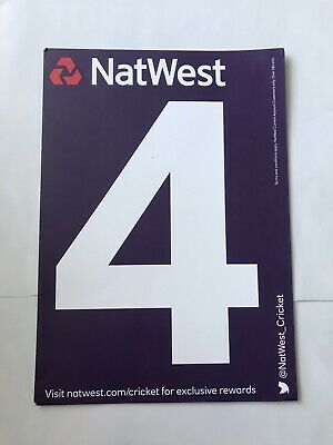NATWEST 4 & 6 Sign • 0.05£