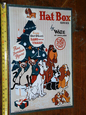 Homemade Wade Hatbox Metal Sign Hat Box Whimsie Lady Tramp Si Am Jock Trusty  • 5.50£