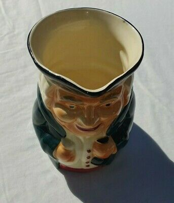 Vintage Shorter & Son Staffordshire Character Jug Green Jacket Great Condition • 14.99£