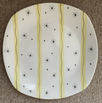 Vintage Midwinter 'Hollywood' Dinner Plate Designed By Jessie Tait 24.5cm Across • 12£