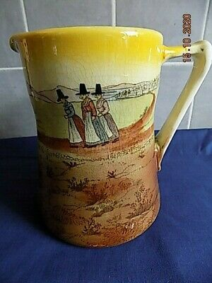 Royal Doulton Welsh Ladies Large Pitcher - Height 18cm • 19.99£