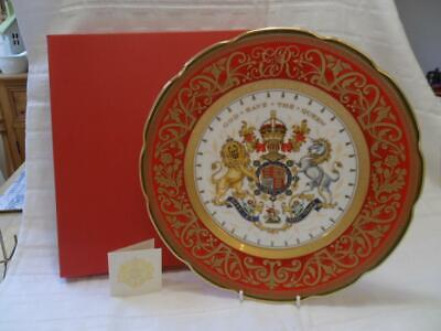 Royal Collection Trust. 60th Anniv Of The Coronation PLATE (Boxed) • 39.50£