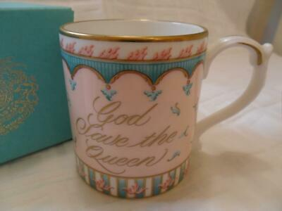 Royal Collection Trust. Queen's 80th Birthday Beaker/Mug (Boxed) • 12.99£