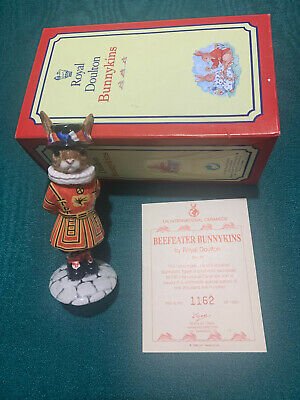 Royal Doulton Bunnykins, Limited Edition Model Beefeater, DB163 From 1997. • 44.99£