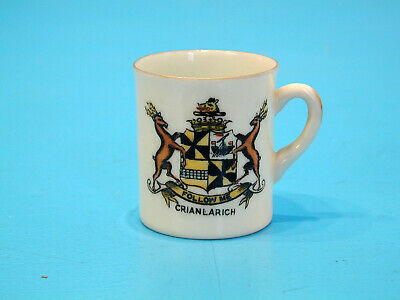 Porcelle Crested China One Handled Cup - Crianlarich • 9.99£