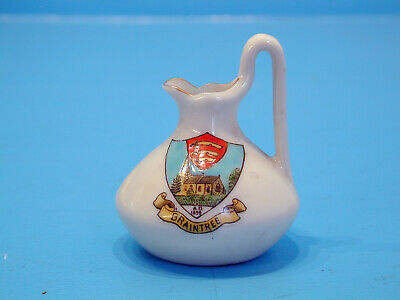 Temple Crested China For Hatfield & Hine - Braintree • 9.99£
