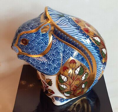Royal Crown Derby Paperweight  Debenham's Squirrel  Boxed & Perfect Condition • 45£