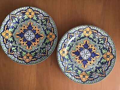 "TWO Royal Doulton Persian Pattern  Dinner Plates 10.25"" • 29£"