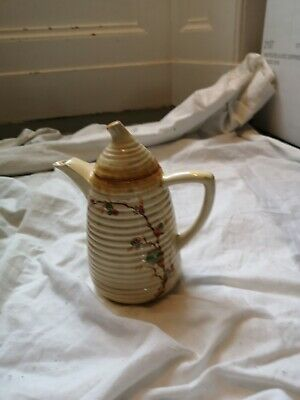 Clarice Cliff Bizarre Coffee Pot .Probably Late Period Tho Can't Trace • 9.99£