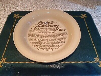 Vintage Pearsons Of Chesterfield Apple And Blackberry Pie Dish • 4.20£