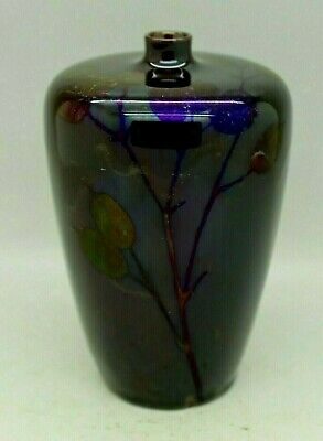 Antique Royal Doulton Flambe Vase Rare Shape Honesty Trial Piece Like Sung Pot • 185£