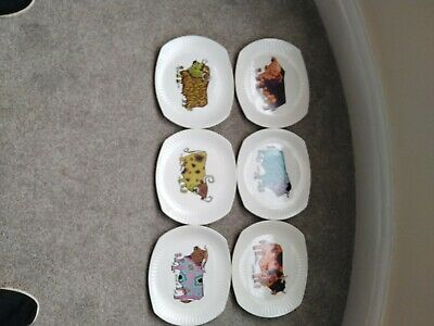 Set Of 6 Beefeater Steak Plates English Ironstone Pottery Ltd (Superb Condition) • 35£