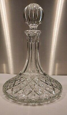 Waterford Crystal Ships Decanter • 20£