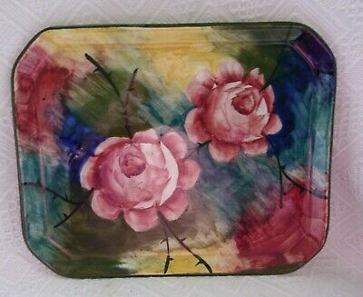 Antique Scottish Pottery Jazzy Wemyss Tray Possibly Painted By Nekola. • 84.99£