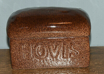 Carlton Ware Hovis Bread Butter Dish 15cms Long • 15£
