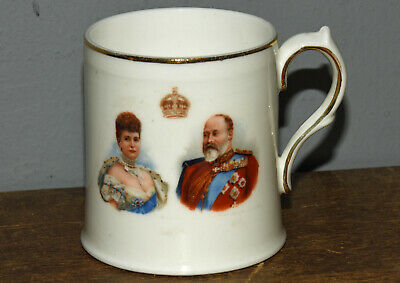 Royal Doulton Edward V11  Coronation Mug 7 Cms 1/2 Auctions • 5£