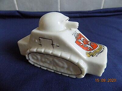 Swan China WW1 Armoured Car - Le Strange Of Hunstanton Crest • 15.99£