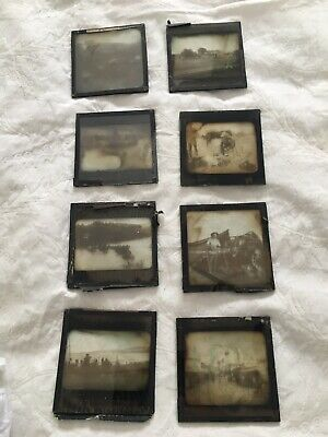 20 Antique Historical  Glass Negatives C1900 Very Collectible And Rare • 250£