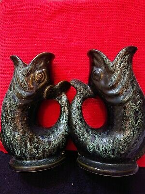 A Pair Of Gluggle Fish Jugs • 15£