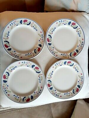 Vintage BHS Priory Side Plates X 4 - 17.5cm Across - Used, Fantastic Condition  • 4.99£