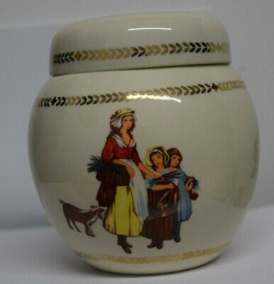 Yardley Ceramic Pottery Container Pot With Lid • 3.99£