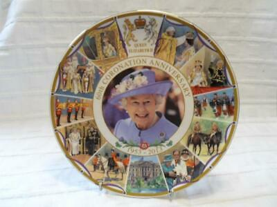 Peter Jones, 60th Anniversary Of Coronation 2013 Collectors Plate (NEW/Boxed • 9.50£