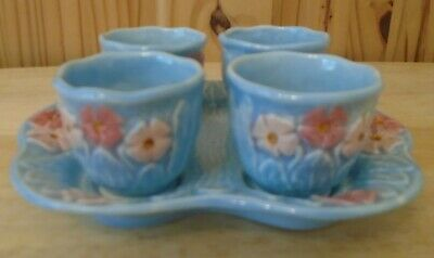 Melba Ware Egg Cup And Stand Set • 7.95£