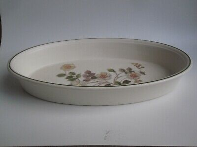 M&S Autumn Leaves – 12 Inch Oval Serving Dish • 6.50£