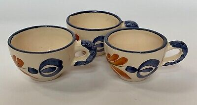 Set Of 3 Vintage Small French Play Doll Tea Cups  • 6.13£