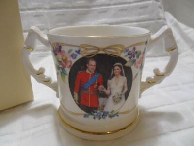 Peter Jones/Aynsley, 2011 Royal Wedding William & Catherine Commemorative Mug • 14.99£