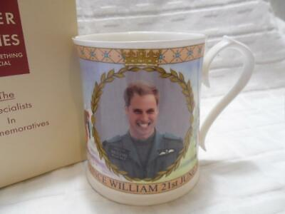 Peter Jones/Aynsley, 2012 Prince William 30th Birthday Commemorative Mug • 14.99£