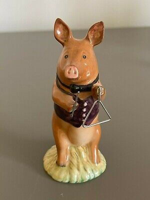 Beswick Vintage Pig Promenade James The Triangle Player Figurine  PP1 Boxed • 2£