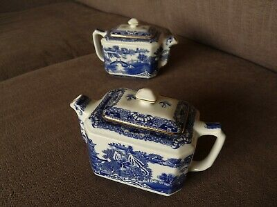 Pair Of Rngton's Vintage Teapots In V. Good Condition • 25£